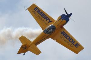 Acrobatic monoplane