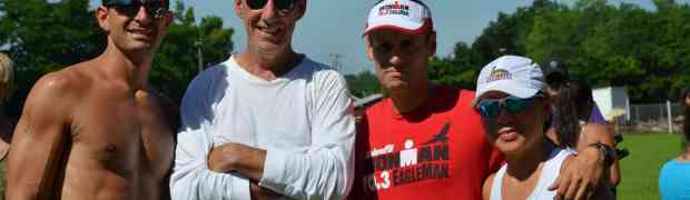 Photos/ Report Randolph Lake sprint Triathlon  2013