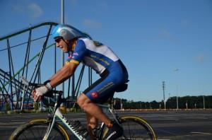 Tony nears Bike end