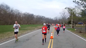 Mile 10 Hi-5 Christine