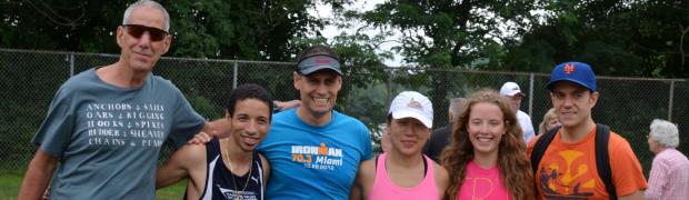 Randolph Lake Triathlon 2014