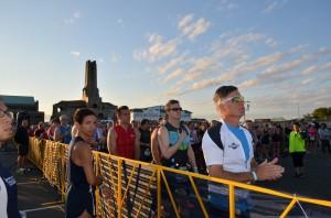Athletes await start of Asbury Park Tri