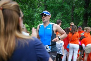 Finishing up my race, better luck next year
