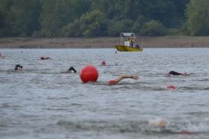 lake swim course