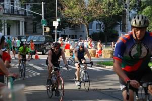 bike course onto Henry Hudson