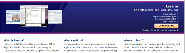 Lazarus - Discover Windows, Mac & Linux cross platform Development IDE
