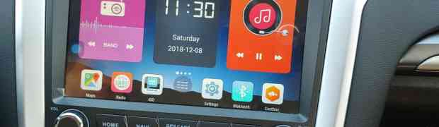 Review Ford Fusion ( Mondeo)  Android Car Radio infotainment with Navigation